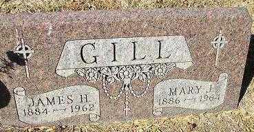 GILL, MARY J. - Minnehaha County, South Dakota | MARY J. GILL - South Dakota Gravestone Photos