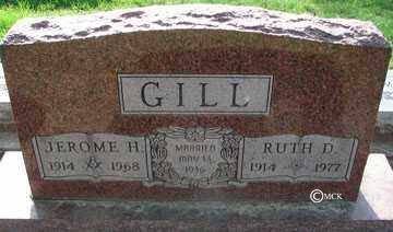 GILL, RUTH D. - Minnehaha County, South Dakota | RUTH D. GILL - South Dakota Gravestone Photos