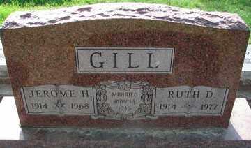GILL, JEROME H. - Minnehaha County, South Dakota | JEROME H. GILL - South Dakota Gravestone Photos