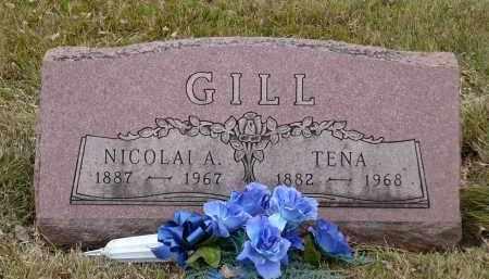 GILL, NICOLAI A. - Minnehaha County, South Dakota | NICOLAI A. GILL - South Dakota Gravestone Photos