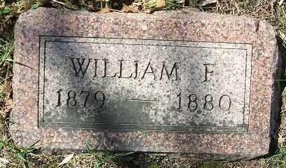 GILL, WILLIAM F. - Minnehaha County, South Dakota   WILLIAM F. GILL - South Dakota Gravestone Photos