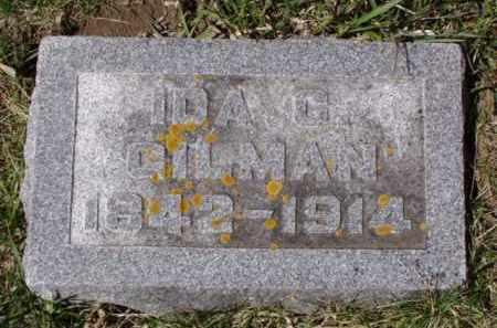 GILMAN, IDA C. - Minnehaha County, South Dakota | IDA C. GILMAN - South Dakota Gravestone Photos