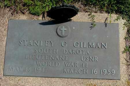 GILMAN, STANLEY G. - Minnehaha County, South Dakota | STANLEY G. GILMAN - South Dakota Gravestone Photos