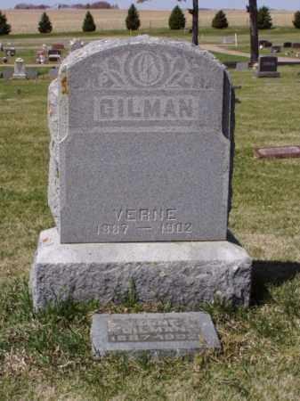 GILMAN, VERNE - Minnehaha County, South Dakota | VERNE GILMAN - South Dakota Gravestone Photos