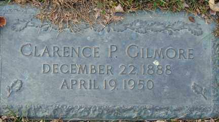 GILMORE, CLARENCE P. - Minnehaha County, South Dakota | CLARENCE P. GILMORE - South Dakota Gravestone Photos