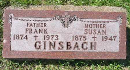 FRANTZEN GINSBACH, SUSAN A. - Minnehaha County, South Dakota | SUSAN A. FRANTZEN GINSBACH - South Dakota Gravestone Photos