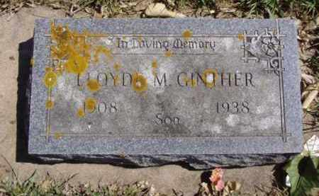 GINTHER, LLOYDE M. - Minnehaha County, South Dakota | LLOYDE M. GINTHER - South Dakota Gravestone Photos