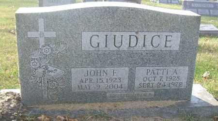 GIUDICE, JOHN F. - Minnehaha County, South Dakota | JOHN F. GIUDICE - South Dakota Gravestone Photos