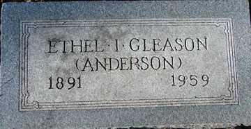 ANDERSON GLEASON, ETHEL IRENE - Minnehaha County, South Dakota | ETHEL IRENE ANDERSON GLEASON - South Dakota Gravestone Photos
