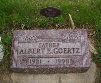 GOERTZ, ALBERT E. - Minnehaha County, South Dakota | ALBERT E. GOERTZ - South Dakota Gravestone Photos