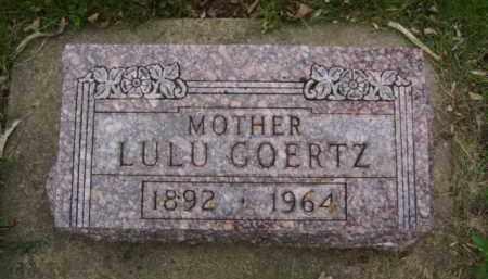 GOERTZ, LULU - Minnehaha County, South Dakota | LULU GOERTZ - South Dakota Gravestone Photos