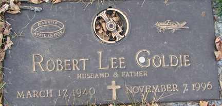 GOLDIE, ROBERT LEE - Minnehaha County, South Dakota | ROBERT LEE GOLDIE - South Dakota Gravestone Photos