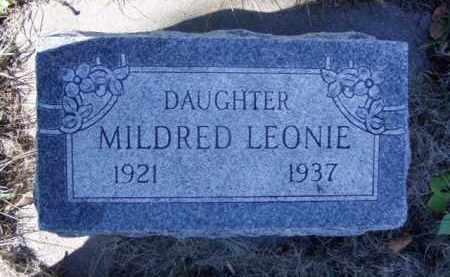 GOLIC, MILDRED LEONIE - Minnehaha County, South Dakota   MILDRED LEONIE GOLIC - South Dakota Gravestone Photos