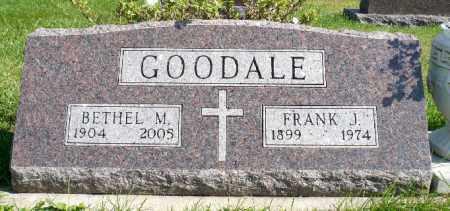 MORGAN GOODALE, BETHEL MAE - Minnehaha County, South Dakota | BETHEL MAE MORGAN GOODALE - South Dakota Gravestone Photos