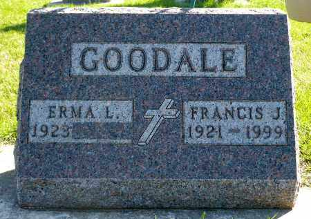 GOODALE, FRANCIS J. - Minnehaha County, South Dakota | FRANCIS J. GOODALE - South Dakota Gravestone Photos