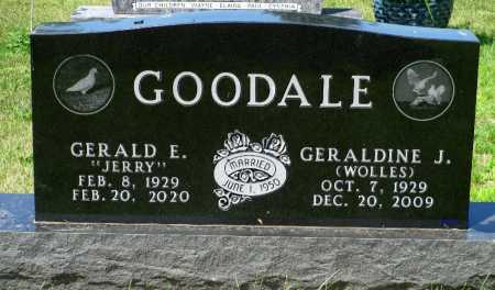 GOODALE, GERALDINE JULIA - Minnehaha County, South Dakota | GERALDINE JULIA GOODALE - South Dakota Gravestone Photos