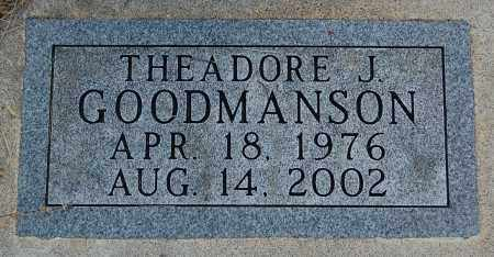 GOODMANSON, THEADORE J. - Minnehaha County, South Dakota | THEADORE J. GOODMANSON - South Dakota Gravestone Photos