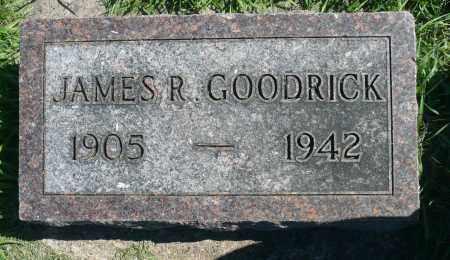 GOODRICK, JAMES ROBERT - Minnehaha County, South Dakota | JAMES ROBERT GOODRICK - South Dakota Gravestone Photos
