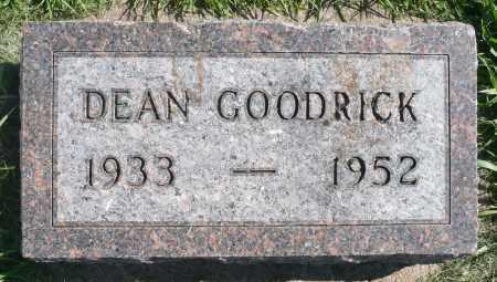 GOODRICK, LYLE DEAN - Minnehaha County, South Dakota | LYLE DEAN GOODRICK - South Dakota Gravestone Photos
