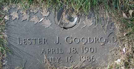 GOODROAD, LESTER J. - Minnehaha County, South Dakota | LESTER J. GOODROAD - South Dakota Gravestone Photos