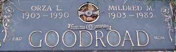 GOODROAD, ORZA L. - Minnehaha County, South Dakota   ORZA L. GOODROAD - South Dakota Gravestone Photos