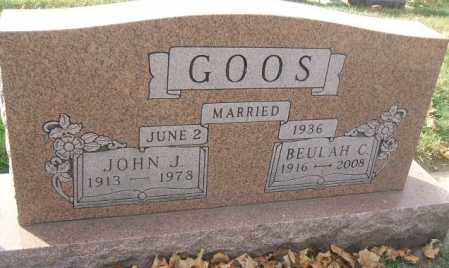 GOOS, BEULAH C. - Minnehaha County, South Dakota | BEULAH C. GOOS - South Dakota Gravestone Photos