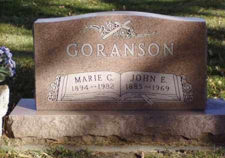 GORANSON, MARIE C. - Minnehaha County, South Dakota   MARIE C. GORANSON - South Dakota Gravestone Photos