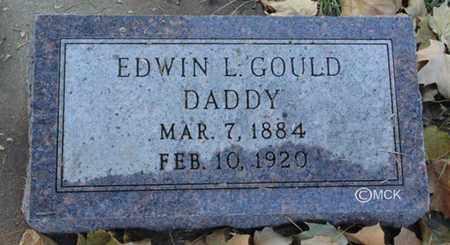 GOULD, EDWIN LAWRENCE - Minnehaha County, South Dakota   EDWIN LAWRENCE GOULD - South Dakota Gravestone Photos