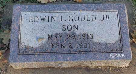 GOULD, EDWIN L. JR - Minnehaha County, South Dakota   EDWIN L. JR GOULD - South Dakota Gravestone Photos