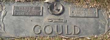 GOULD, HENRY I. - Minnehaha County, South Dakota | HENRY I. GOULD - South Dakota Gravestone Photos