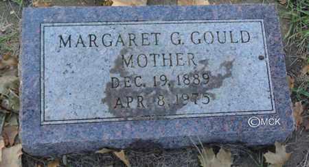GOULD, MARGARET G. - Minnehaha County, South Dakota | MARGARET G. GOULD - South Dakota Gravestone Photos
