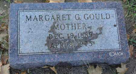 DOCKSTADER GOULD, MARGARET G. - Minnehaha County, South Dakota | MARGARET G. DOCKSTADER GOULD - South Dakota Gravestone Photos