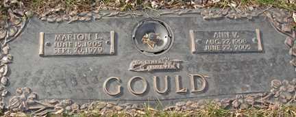 GOULD, MARION L. - Minnehaha County, South Dakota | MARION L. GOULD - South Dakota Gravestone Photos