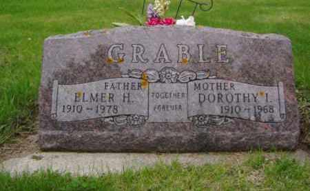 GRABLE, DOROTHY I. - Minnehaha County, South Dakota | DOROTHY I. GRABLE - South Dakota Gravestone Photos