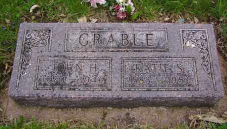 GRABLE, KATIE S. - Minnehaha County, South Dakota | KATIE S. GRABLE - South Dakota Gravestone Photos