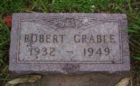 GRABLE, ROBERT DEAN - Minnehaha County, South Dakota | ROBERT DEAN GRABLE - South Dakota Gravestone Photos