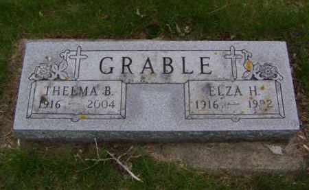 GRABLE, THELMA B - Minnehaha County, South Dakota | THELMA B GRABLE - South Dakota Gravestone Photos