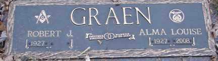 GRAEN, ROBERT J. - Minnehaha County, South Dakota | ROBERT J. GRAEN - South Dakota Gravestone Photos