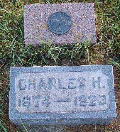 GRAF, CHARLES H. - Minnehaha County, South Dakota   CHARLES H. GRAF - South Dakota Gravestone Photos