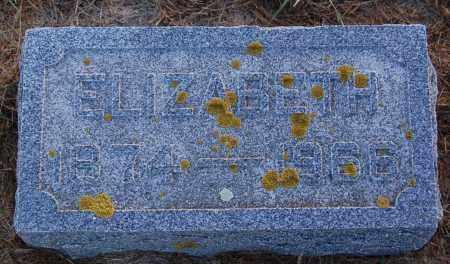 GRAF, ELIZABETH - Minnehaha County, South Dakota | ELIZABETH GRAF - South Dakota Gravestone Photos