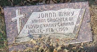 GRAHAM, JOANN MARY - Minnehaha County, South Dakota | JOANN MARY GRAHAM - South Dakota Gravestone Photos