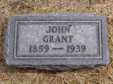 GRANT, JOHN - Minnehaha County, South Dakota   JOHN GRANT - South Dakota Gravestone Photos