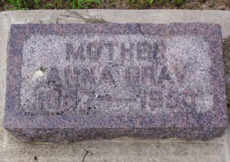 GRAV, ANNA - Minnehaha County, South Dakota   ANNA GRAV - South Dakota Gravestone Photos