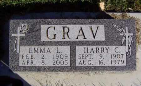 GRAV, EMMA LAVINA - Minnehaha County, South Dakota | EMMA LAVINA GRAV - South Dakota Gravestone Photos