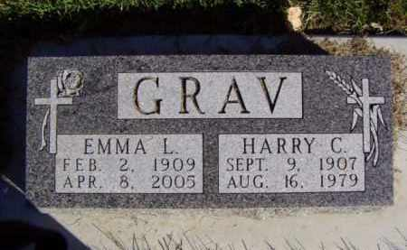 GRAV, EMMA LAVINA - Minnehaha County, South Dakota | EMMA LAVINA GRAV - South Dakota Gravestone Photos
