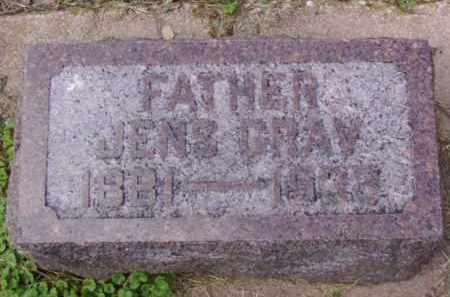 GRAV, JENS - Minnehaha County, South Dakota | JENS GRAV - South Dakota Gravestone Photos
