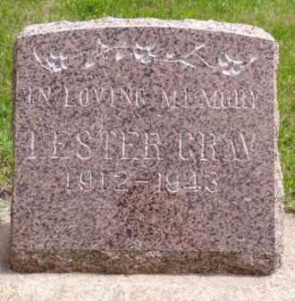 GRAV, LESTER - Minnehaha County, South Dakota | LESTER GRAV - South Dakota Gravestone Photos