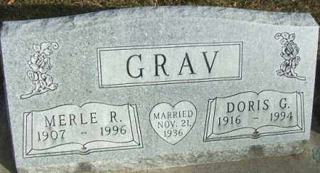 GRAV, MERLE R. - Minnehaha County, South Dakota | MERLE R. GRAV - South Dakota Gravestone Photos
