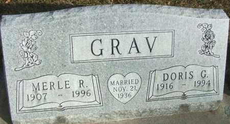 GRAV, DORIS G. - Minnehaha County, South Dakota | DORIS G. GRAV - South Dakota Gravestone Photos