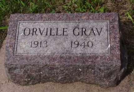 GRAV, ORVILLE - Minnehaha County, South Dakota   ORVILLE GRAV - South Dakota Gravestone Photos